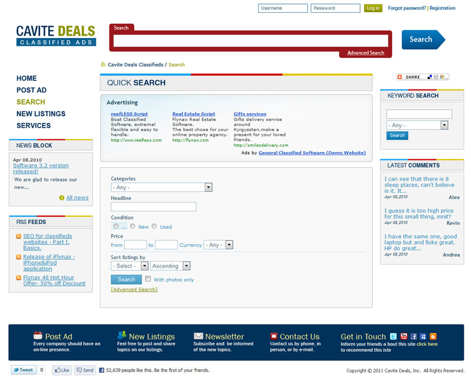 Cavite Deals Classified Ads